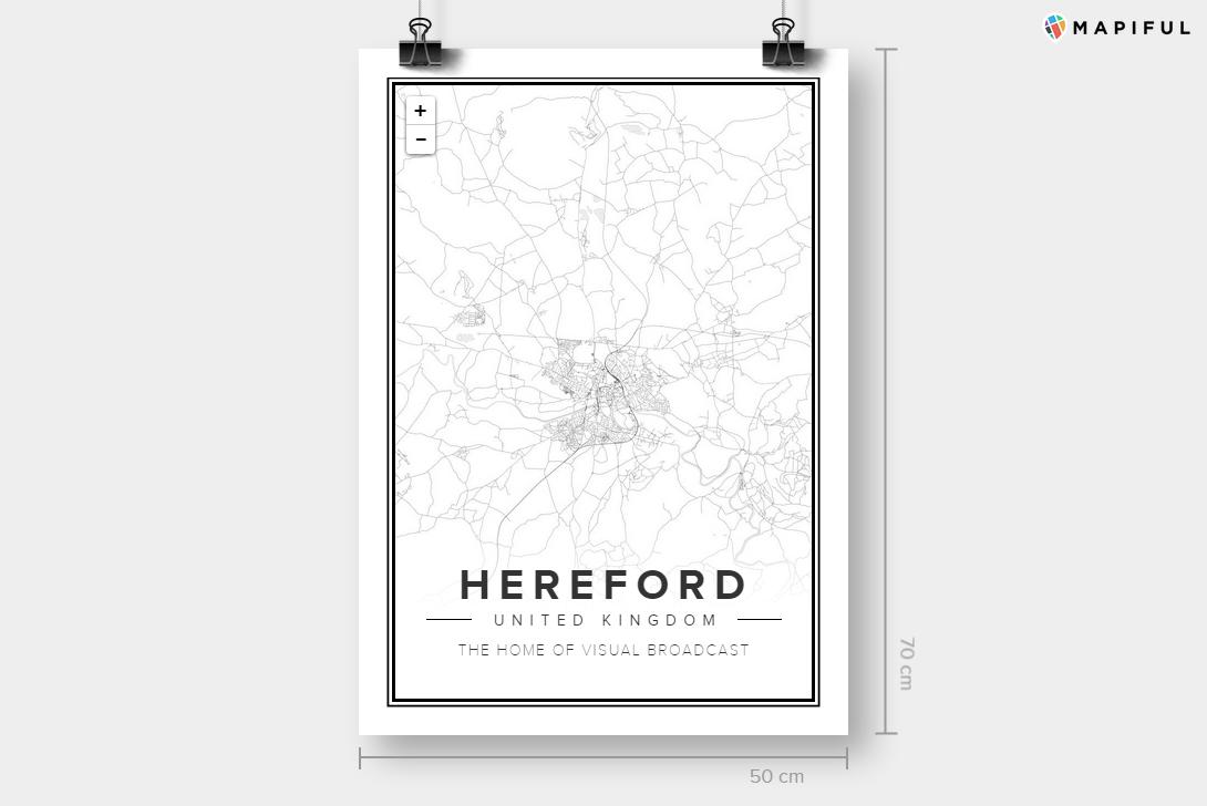 Mapiful - Hereford (Modern)