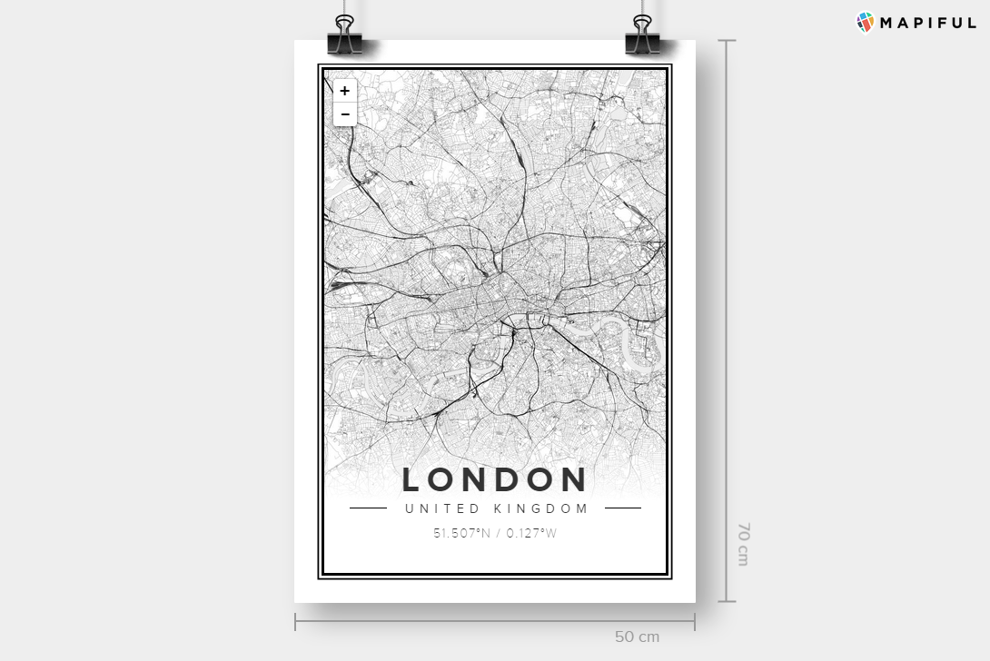 Create a Map Poster of Anywhere in the World with Mapiful   Visual Broadcast