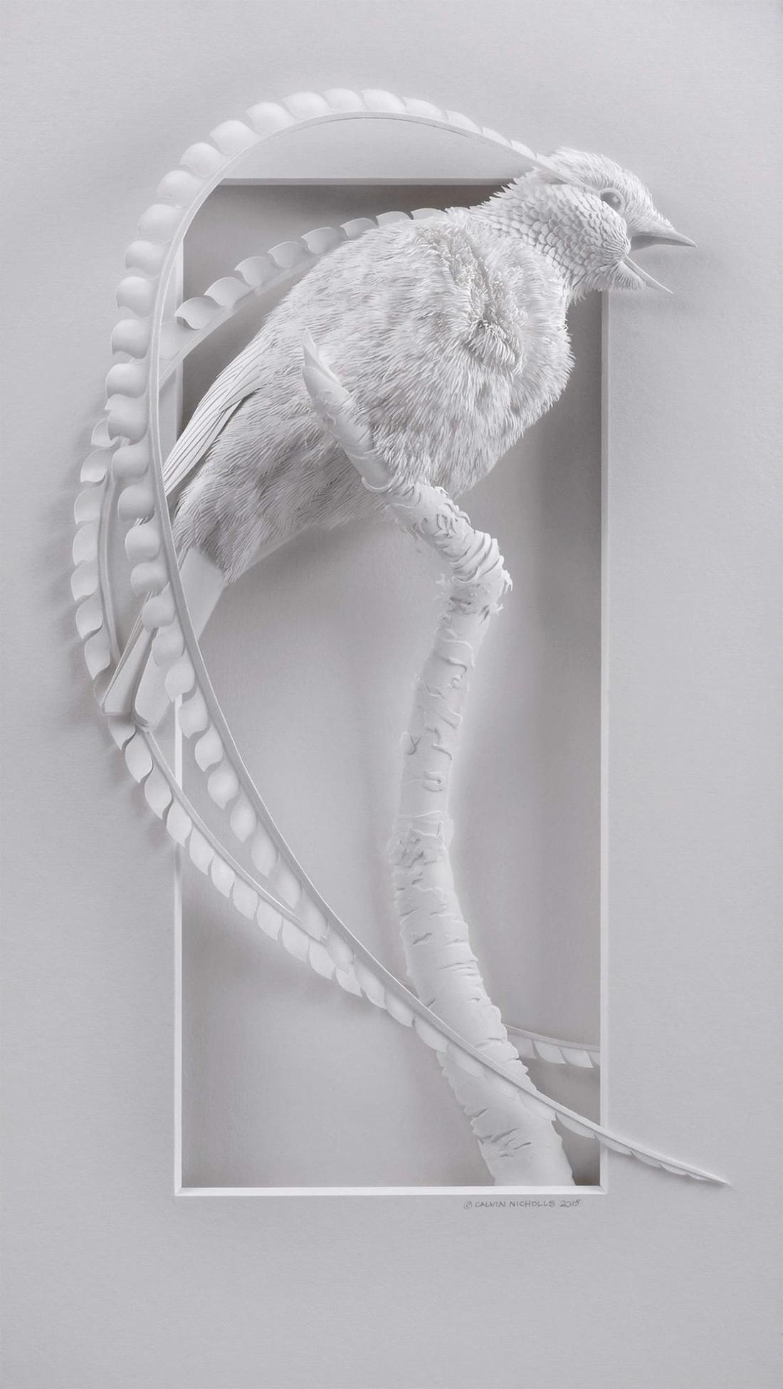 Calvin Nicholls Paper Art 1