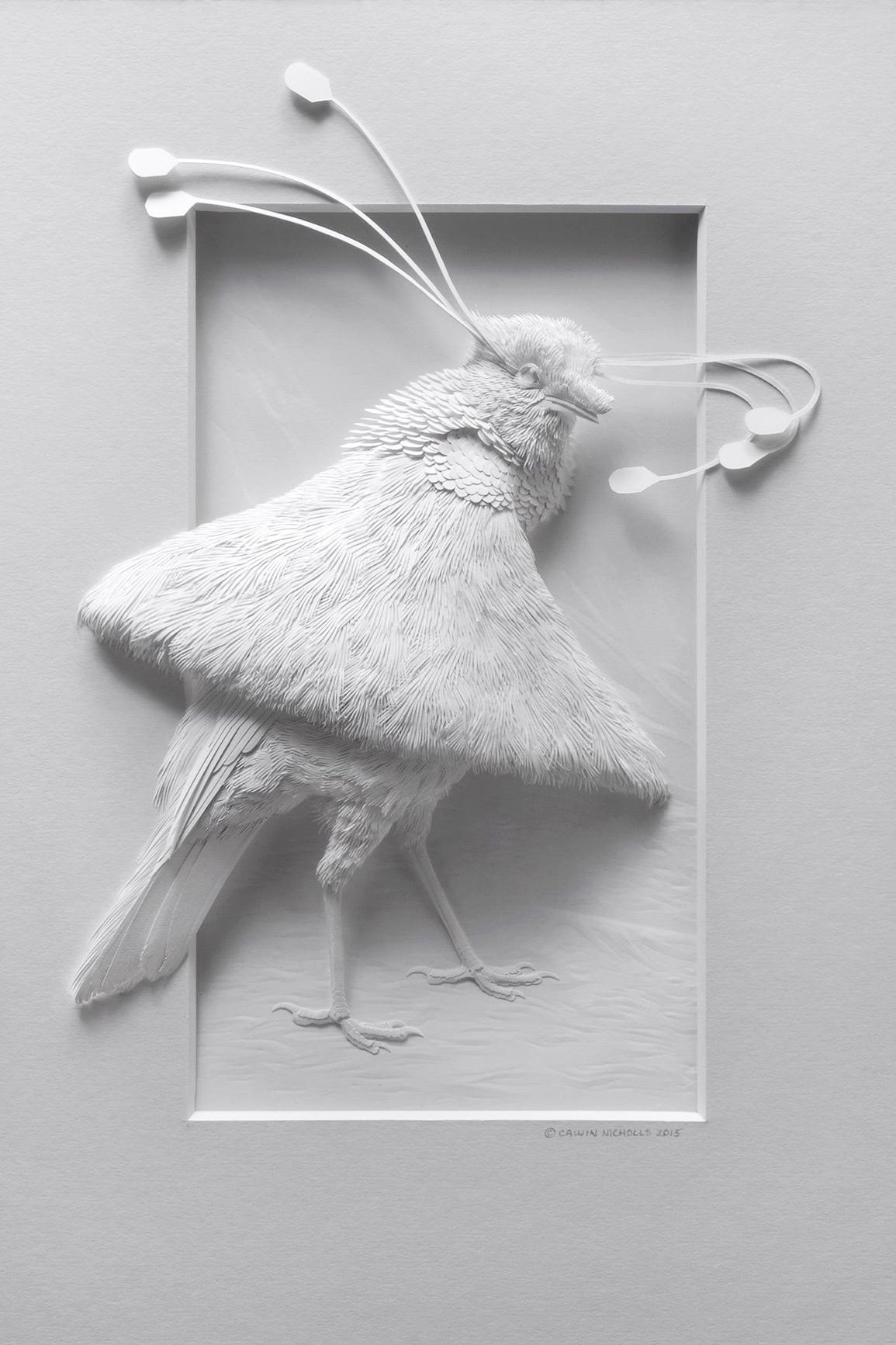 Calvin Nicholls Paper Art 2