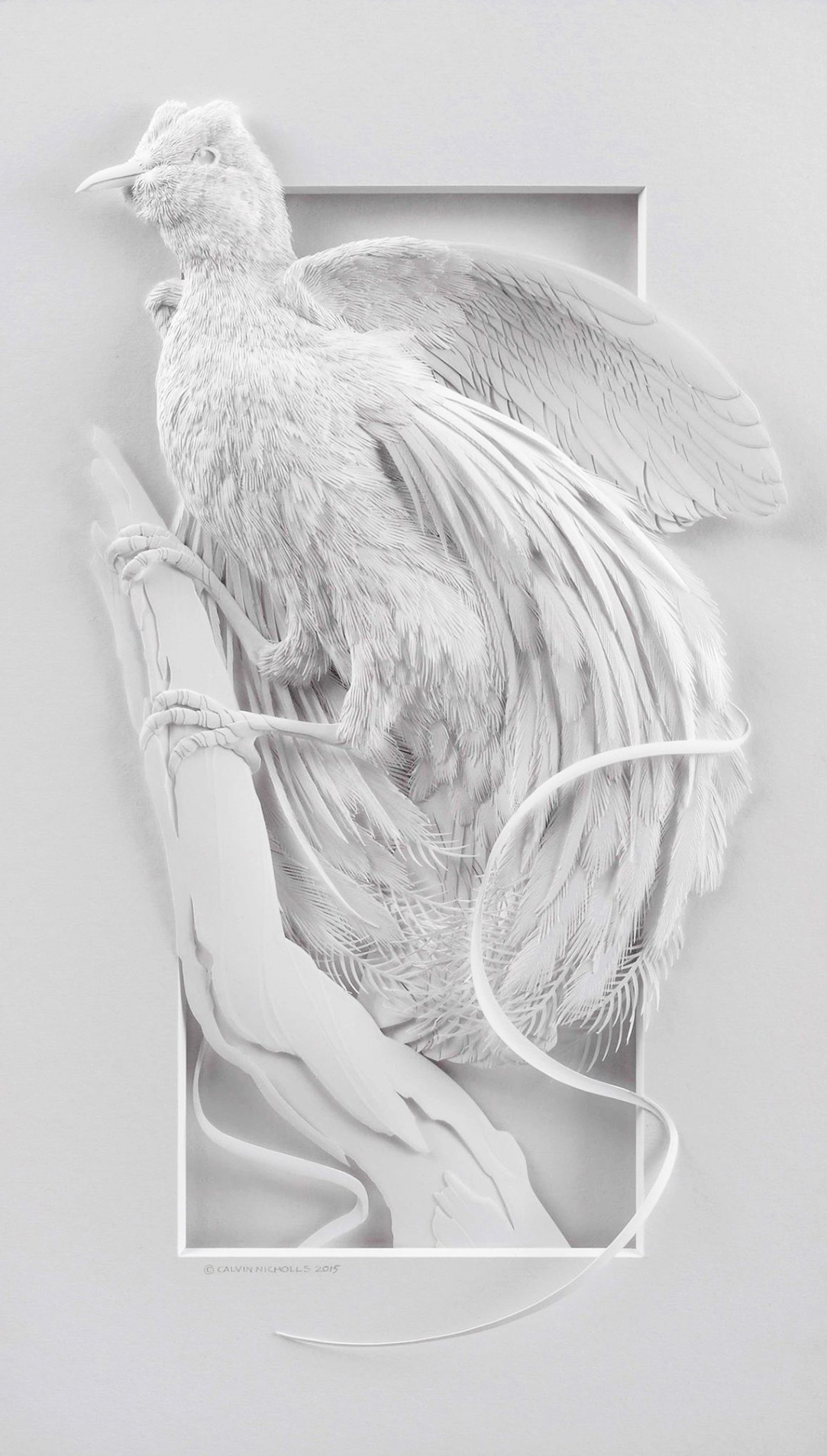 Calvin Nicholls Paper Art 3
