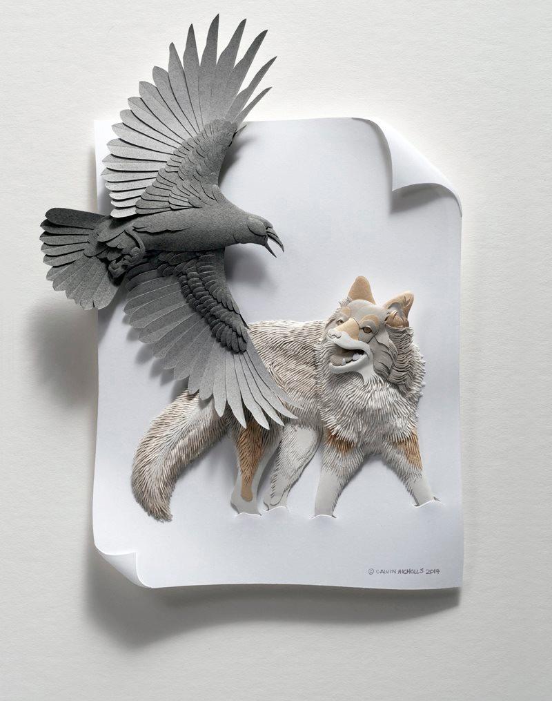 Calvin Nicholls Paper Art 5