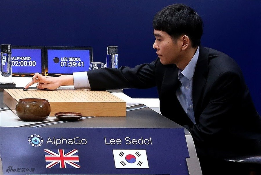 AlphaGo vs Lee Sedol 1