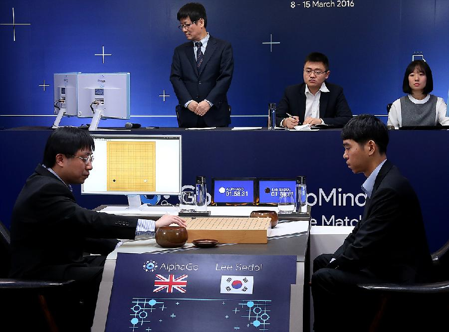 AlphaGo vs Lee Sedol 2
