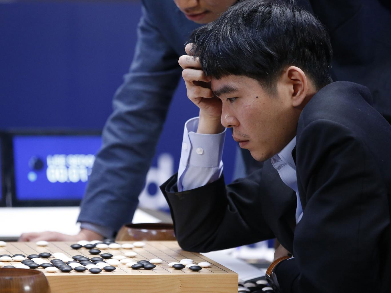 AlphaGo vs Lee Sedol 3