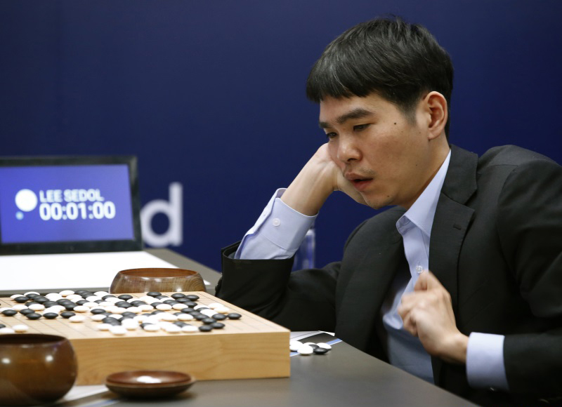 AlphaGo vs Lee Sedol 4