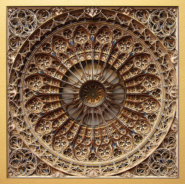 Eric Standley Laser Cut Paper Art
