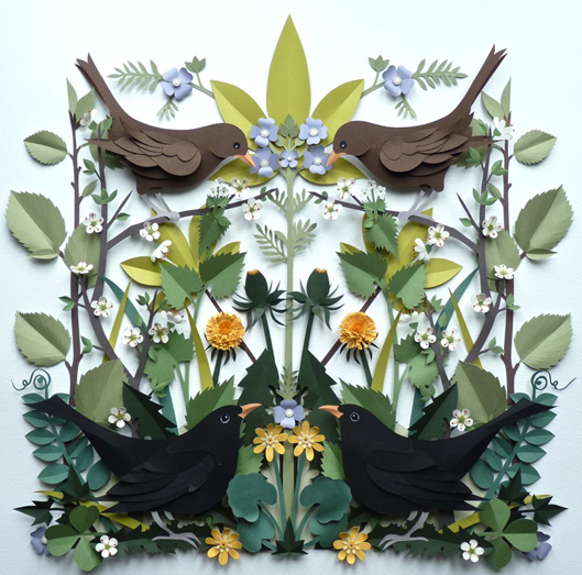 Helen Musselwhite Hedgerow Papercraft