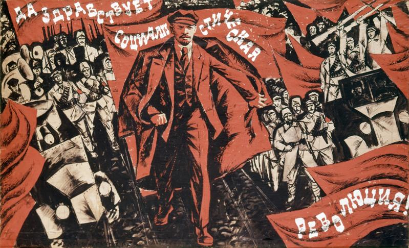 Soviet Propaganda Poster 1