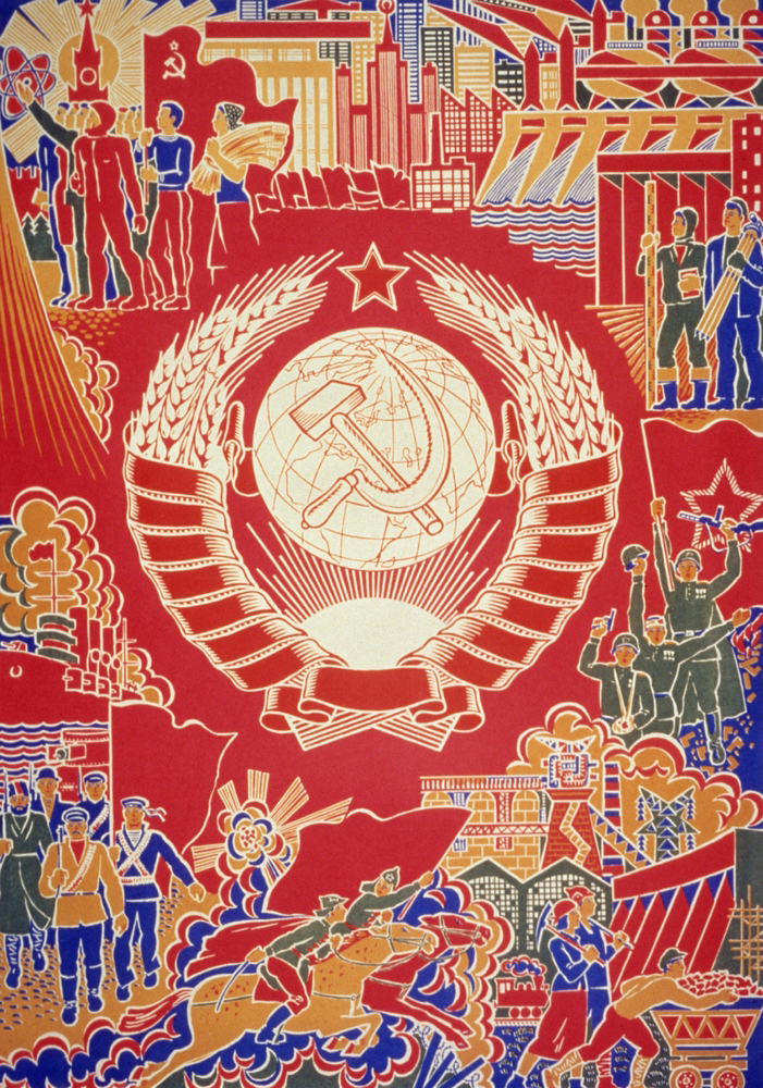 the propaganda about the communism in the united states