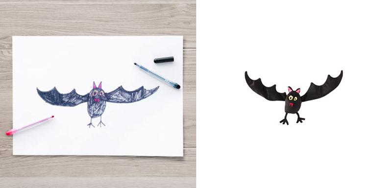 Sagoskatt Bat Toy