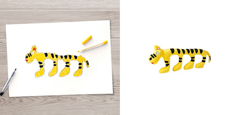 Sagoskatt Tiger Toy