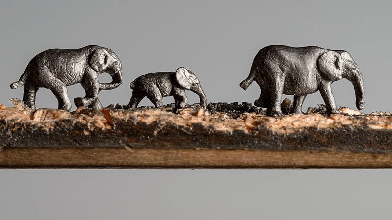 Miniature Elephants 3